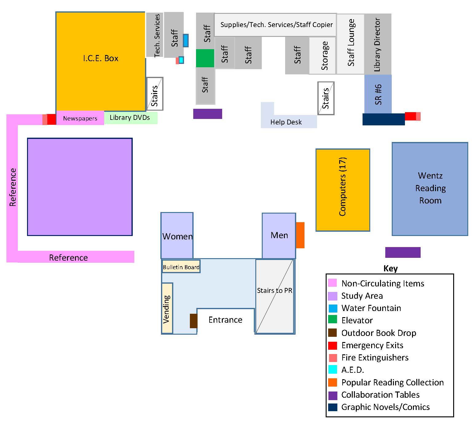 Main Floor Map
